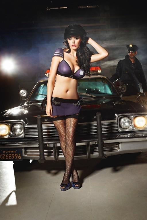 Игровые чулки «Police» (Фото 1)