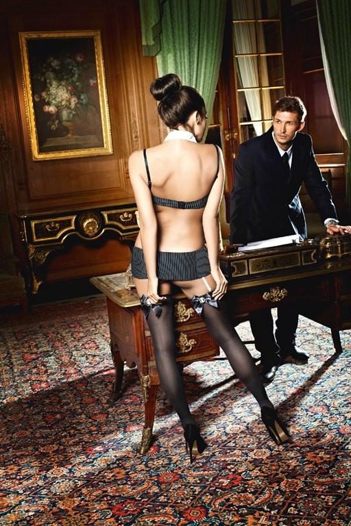 Игровые чулки «Secretary» (Фото 1)