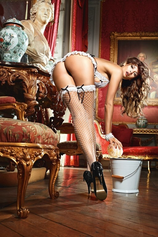 Игровые чулки «White French Maid» (Фото 2)