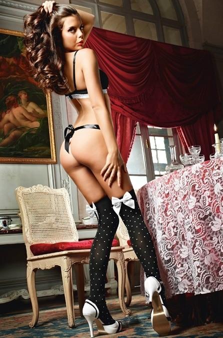 Игровые чулки «Playful French Maid»