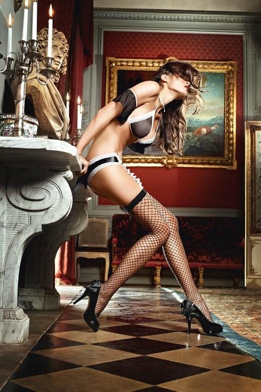 Игровые чулки «Careless French Maid» (Фото 1)