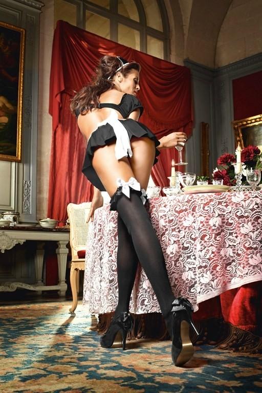 Игровые чулки «Mischievous French Maid» арт.BL1363 (Фото 2)