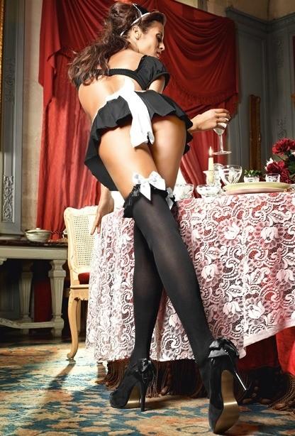 Игровые чулки «Mischievous French Maid» арт.BL1363