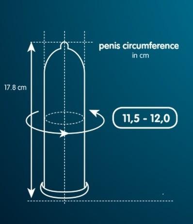 Презервативы «MY.SIZE 57» немного увеличенные (Фото 1)