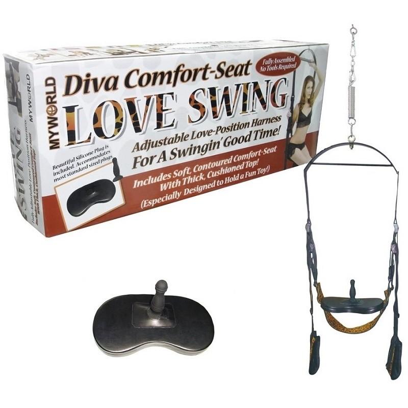 Секс-качели, сиденье и анальный стимулятор «Love Swing» арт.900493