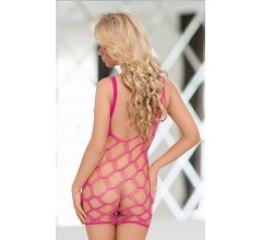 Платье из сетки «Kitty Neon Pink» арт.624440 (Фото 1)