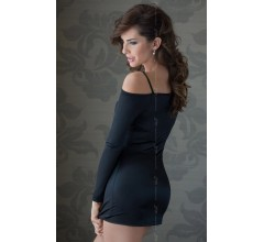 Мини-платье с рукавами «Tyler Black» (Фото 1)