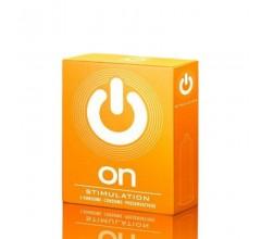 Презервативы «ON) Stimulation» 3шт. точечные