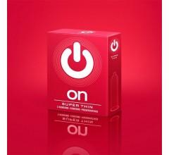 Презервативы «ON) Super Thin » 3шт. ультратонкие