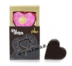 Набор «Вибромассажер, съедобная карамель для тела, сужающий лубрикант и возбуждающий шоколад» (Фото 4)