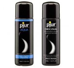 Набор лубрикантов Pjur «Aqua Original» на водной и силиконовой основах