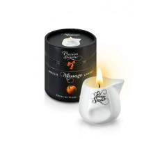 Свеча с массажным маслом «MASSAGE CANDLE PEACH» с ароматом персика 80 мл.