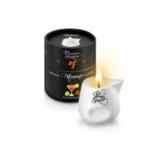Свеча с массажным маслом «MASSAGE CANDLE COSMOPOLITAN » с ароматом коктейля Космополитан 80 мл.
