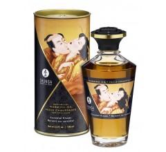 Возбуждающее массажное масло со вкусом карамели «Caramel Kisses Карамельный поцелуй» 100 мл.