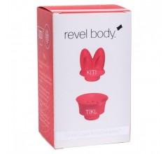 Комплект насадок для пульсатора Revel Body «REVEL BODY KITI AND TIKL» (Фото 3)