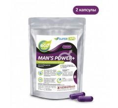 Возбуждающий комплекс для мужчин «MAN`S POWER +» с витаминами 2 капсулы
