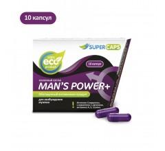 Возбуждающий комплекс для мужчин «MAN`S POWER +» с витаминами 10 капсул