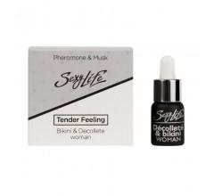 Концентрированные духи с с феромонами «Tender Feeling Decolette & Bikini» для зоны декольте и бикини
