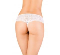 Стринги с интимным вырезом «Erolanta White» (Фото 1)