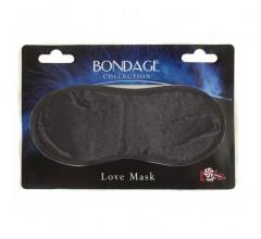 Непроницаемая маска на глаза «Love Mask»