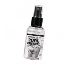 Женский спрей для нижнего белья с феромонами и ионами серебра «Pure Cristal Woman» 50 мл.