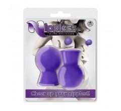 Вакуумные помпочки для сосков «Nippless Nipple Sucker»