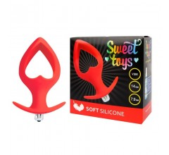 Анальная втулка XL с вырезом «Sweet Toys»