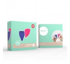 Комплект менструальных чаш «FUN CUP EXPLORE KIT»
