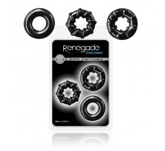 Набор эрекционных колец «Renegade - Dyno Rings»