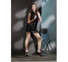 Платье из винила «Black Level» (Фото 1)