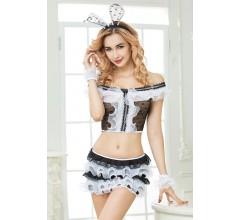 Игровой костюм зайки «Candy Girl Cherry» 5 предметов