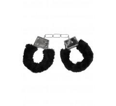 Металлические наручники с меховой опушкой «Beginner's Handcuffs Furry» (Фото 2)