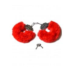 Металлические наручники «Be Mine» с мехом (Фото 1)