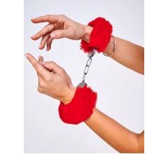 Металлические наручники «Be Mine» с мехом (Фото 2)