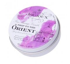Массажная свеча с ароматом граната и белого перца «Petits JouJoux A Trip To Orient» (Фото 1)