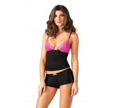 Комплект «Lace & Jersey cami & shorts»