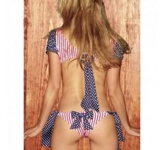Боди с открытой спиной «Dots & Stripes» (Фото 1)