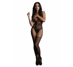 Боди-комбинезон «Lace and Fishnet Bodystocking»