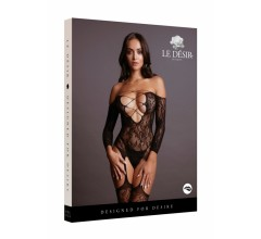 Боди-комбинезон «Criss Cross Neck Bodystocking» (Фото 2)