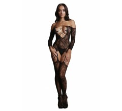 Боди-комбинезон «Criss Cross Neck Bodystocking»