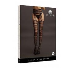 Стрип-панти «Suspender Striped Pantyhose» (Фото 2)