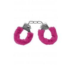 Металлические наручники с меховой опушкой «Pleasure Handcuffs Furry» (Фото 2)