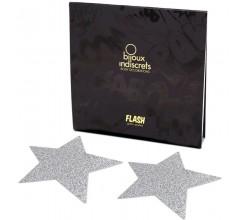 Пэстис в форме звезд «Bijoux Flash Star Glitter Pasties»