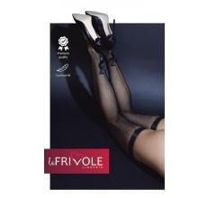 Чулки со швом и бантиком «Le Frivole» (Фото 1)