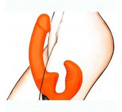 Безремневой страпон с вибрацией «ГлавСексМаг» (Фото 3)