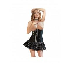 Платье с открытой грудью «Black Level Surprise»