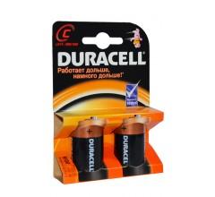 Щелочные батарейки типа C «DURACELL» 2 шт.