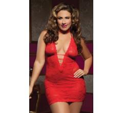 Платье с глубоким декольте «Seventil»