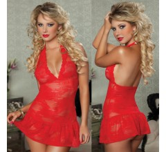 Красное платье «Seven'til» арт.9654 (Фото 1)