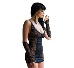 Сорочка, стринги и перчатки «SLC»